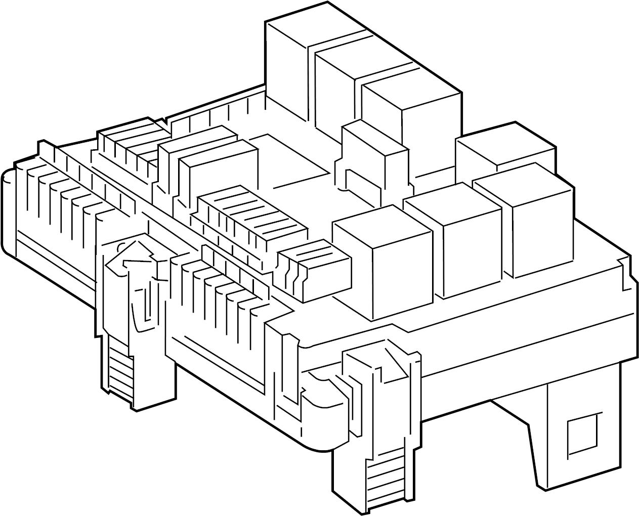 2008 cl550 fuse box