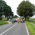 Verkehrsunfall eingeklemmte Person Lembrucher Str. 23.07.16 03