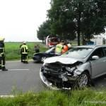 Verkehrsunfall eingeklemmte Person Lembrucher Str. 23.07.16 07