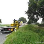 Verkehrsunfall eingeklemmte Person Lembrucher Str. 23.07.16 09