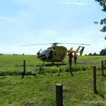 Verkehrsunfall eingeklemmte Person Voerdener Str. Hinnenkamp 18.08.16 04