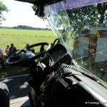 Verkehrsunfall eingeklemmte Person Voerdener Str. Hinnenkamp 18.08.16 42