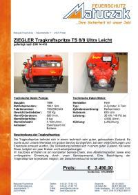 ZIEGLER Tragkraftspritze TS 8/8 Ultra Leicht vom ZIEGLER ...