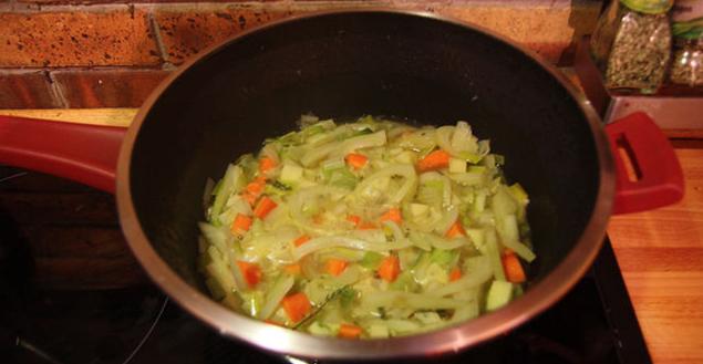 recette de soupe au fenouil carottes et poireaux feuille de choux