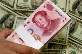 China Money Dollars