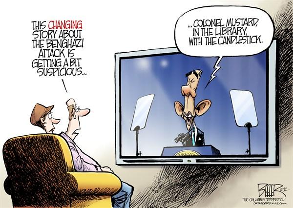 Benghazi Story Chaning
