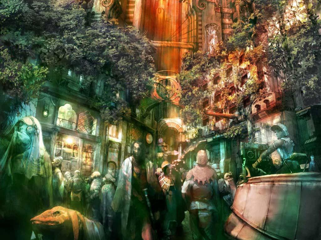 Animated Christmas Desktop Wallpaper Final Fantasy Xii Ffxii Ff12 Wallpapers