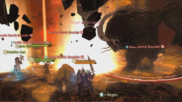 FFXIV-ARR-Titan-Hard-Mode-Bomb-Boulder-Type-3-Run