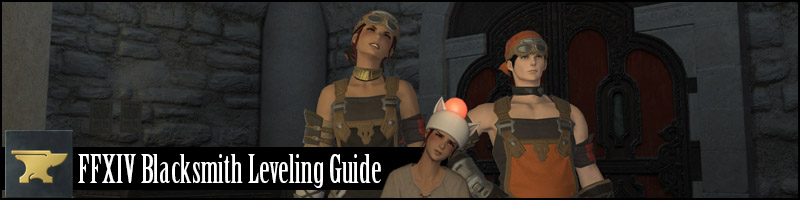 FFXIV Blacksmith Leveling Guide (Updated 50 to 60!)