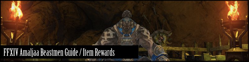 are one of the beast tribes you can gain reputation with in FFXIV:ARR ...