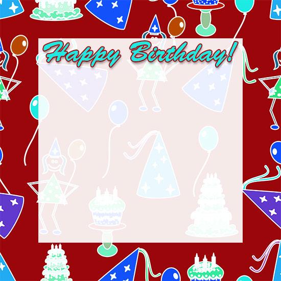 Free Birthday Borders - Happy Birthday Border Clip Art