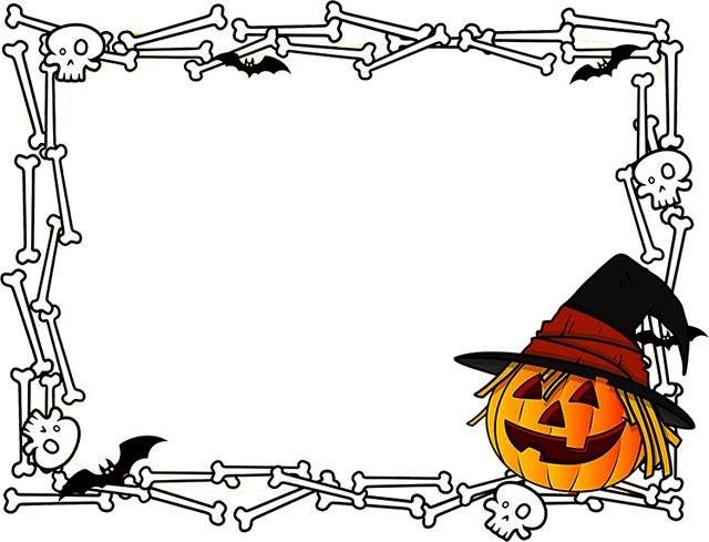 Halloween Borders - Free Happy Halloween Border Clip Art