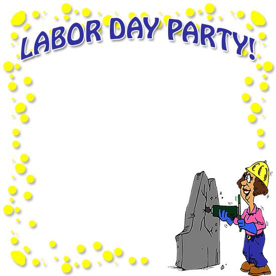 Free Labor Day Borders - Clipart
