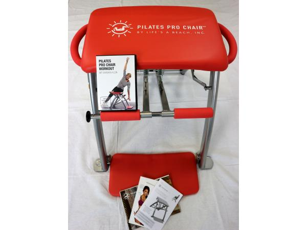 Pilates Pro Chairtm Pilates Stuhl Dvd Einstellbarer