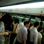 Métro à Hong Kong