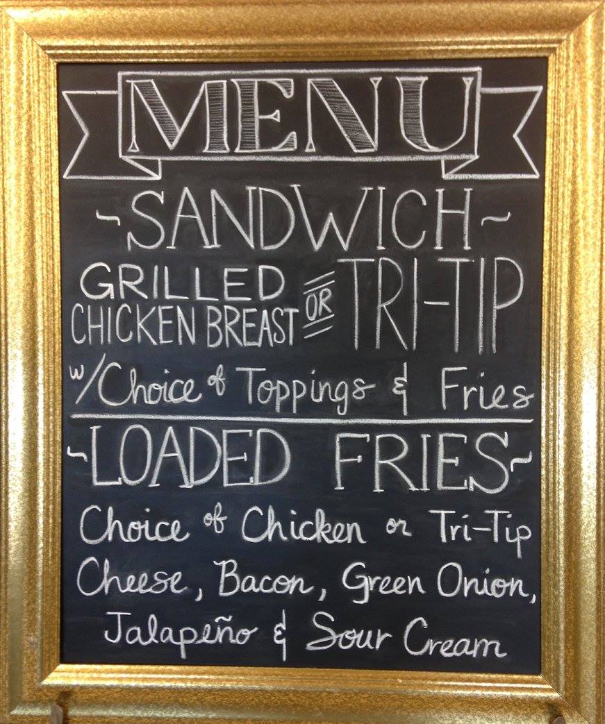 menu board design