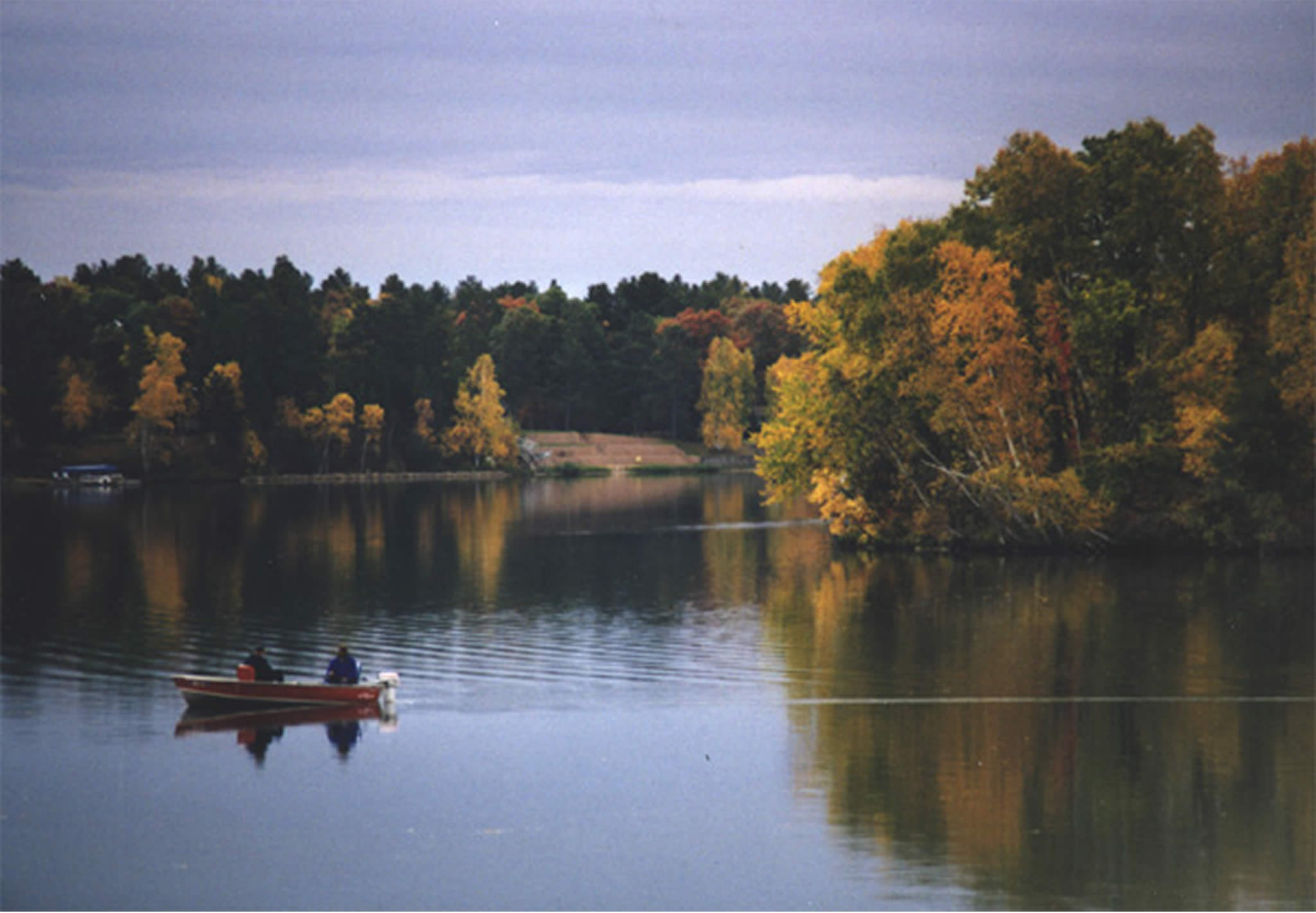 Fall Lake Wallpaper Paul Bunyan Scenic Byway All Photos America S Byways