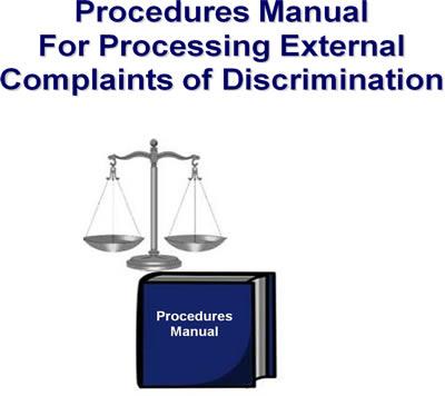 Procedures Manual For Processing External Complaints of