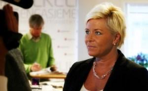 Finansminister Siv Jensen.  Foto: Fremskrittspartiet/Flickr