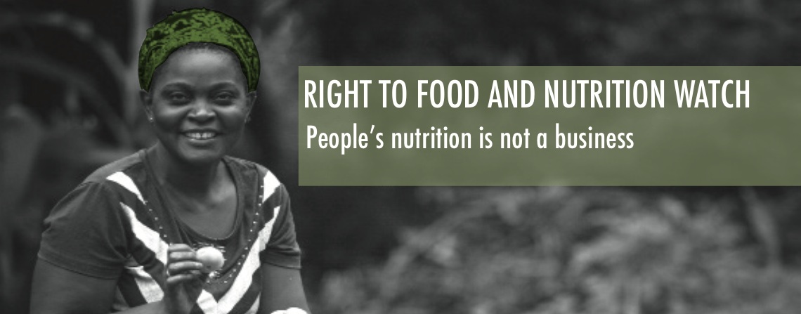 Launch of the Right to Food and Nutrition Watch 2015