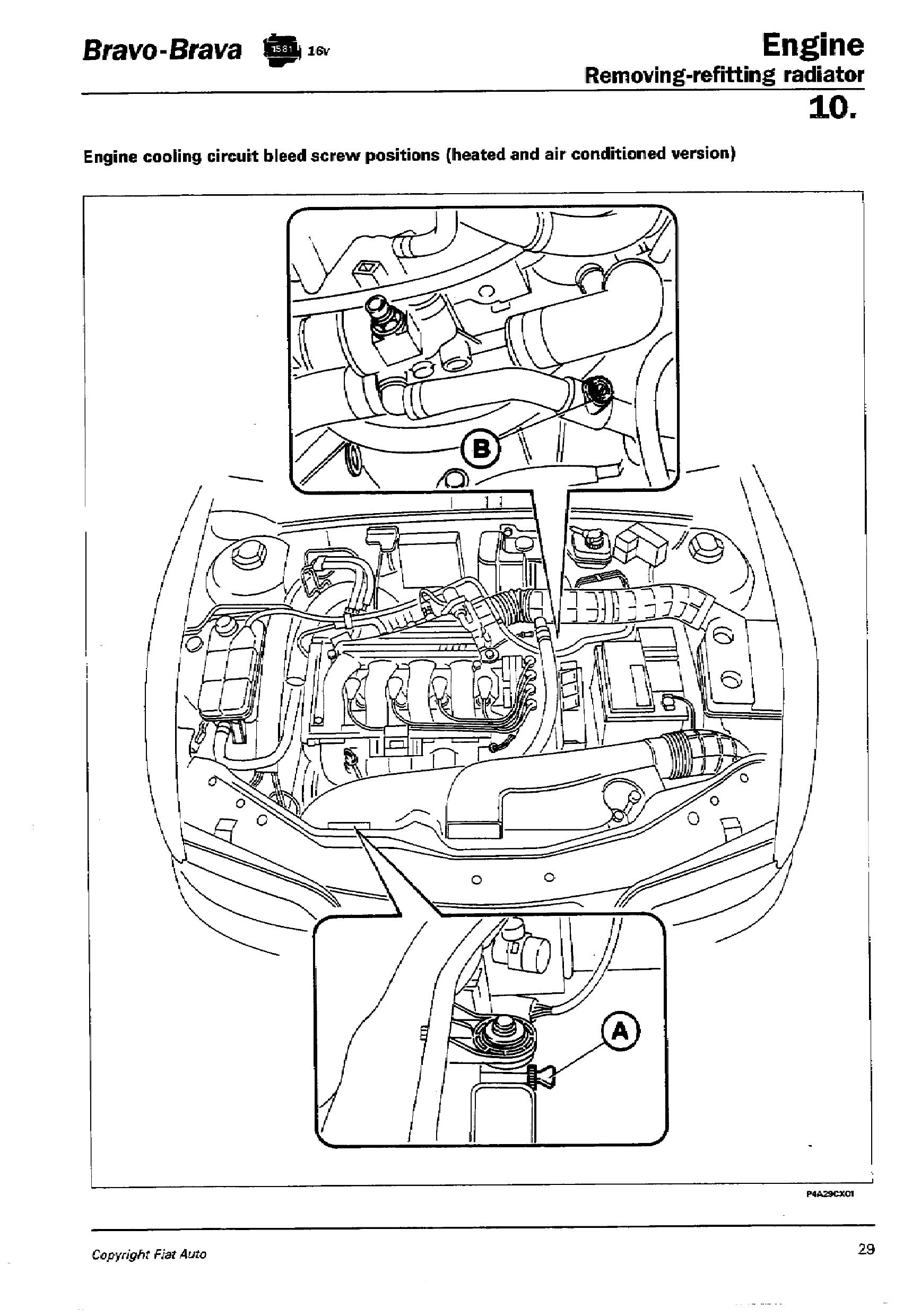 fiat palio engine diagram auto electrical wiring diagramtechnical where exactly are the bleeding screws in a 1 6