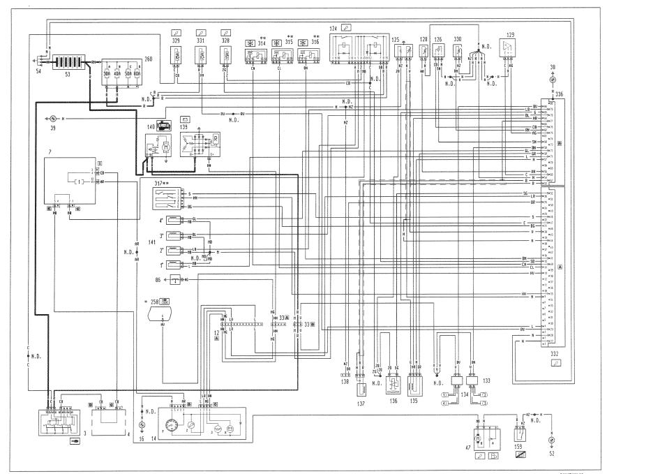 FIAT PUNTO ELECTRIC WINDOW WIRING DIAGRAM - Auto Electrical Wiring