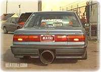 Biggest Exhaust On A Car | Big Car