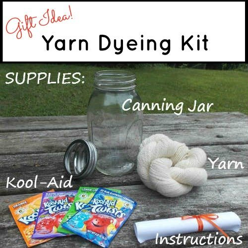 Yarn Dyeing Kit, Fiberartsy.com
