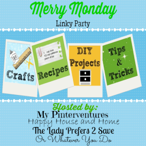 Merry Monday Linky Party