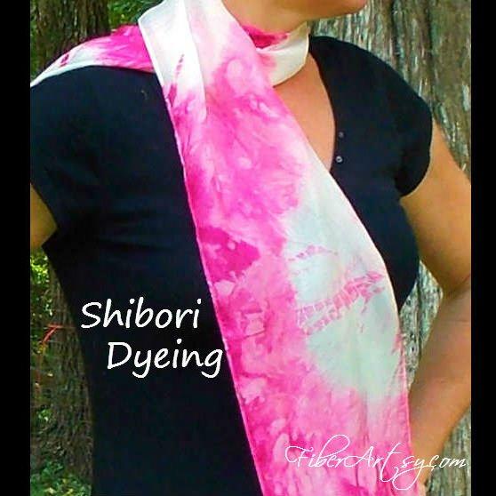 Shibori Dyeing Tutorial, Fiberartsy.com