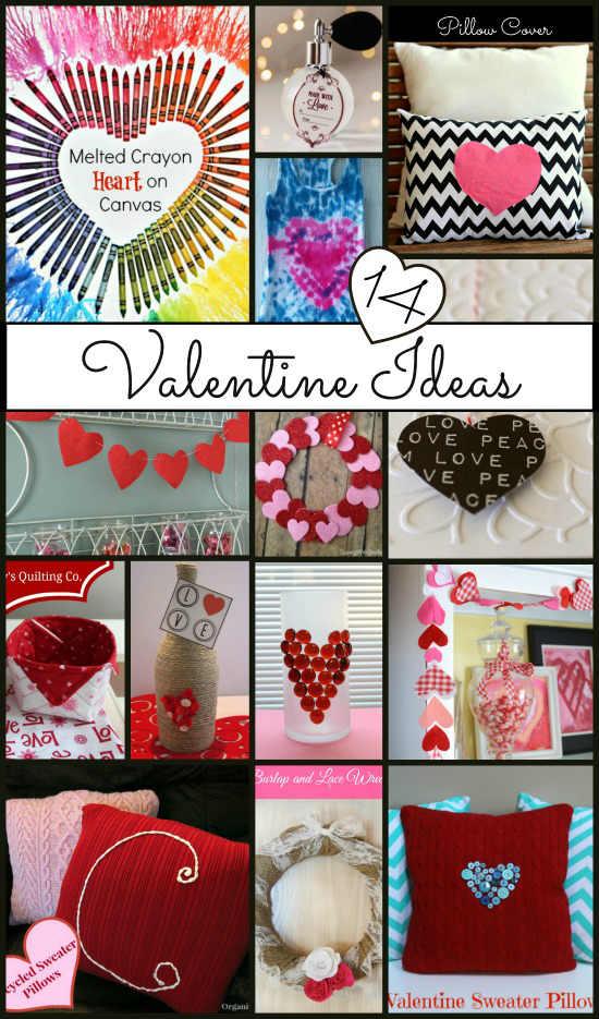 14 Valentine Crafts, Fiberartsy.com