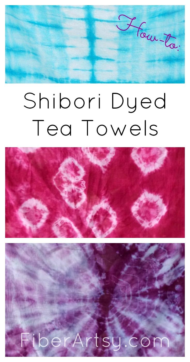 Shibori dyeing, a FiberArtsy.com tutorial