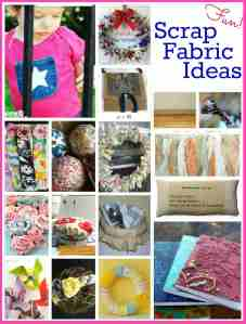 17 Fun Scrap Fabric Projects