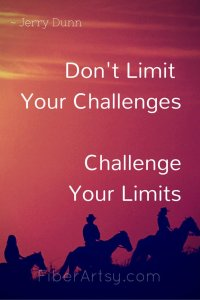 Don't Limit Your Challenges …