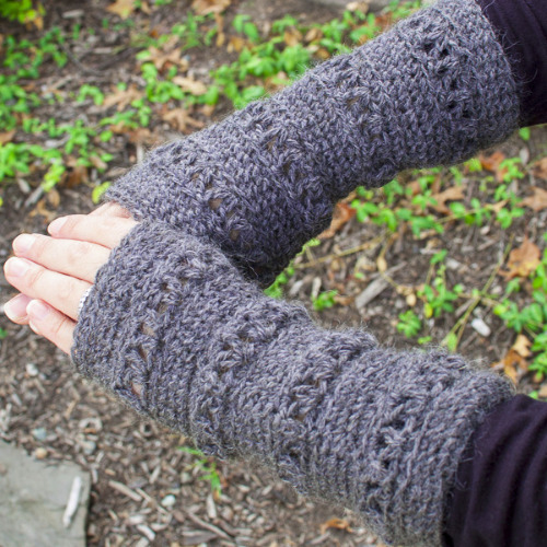 Fingerless Glove Pattern by Petals to Picots