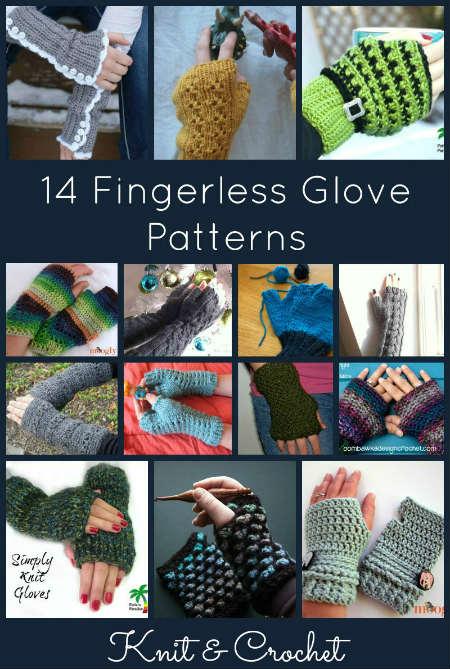 14 Fingerless Glove Patterns for Knit and Crochet, FiberArtsy.com