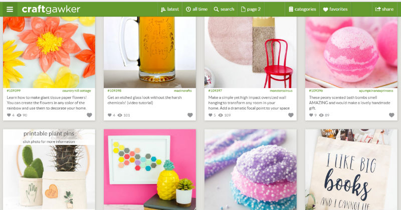 Websites to Submit Your Craft Project Post - Hometalk by FiberArtsy.com