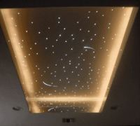Use fibre optics to create a great star ceiling in your