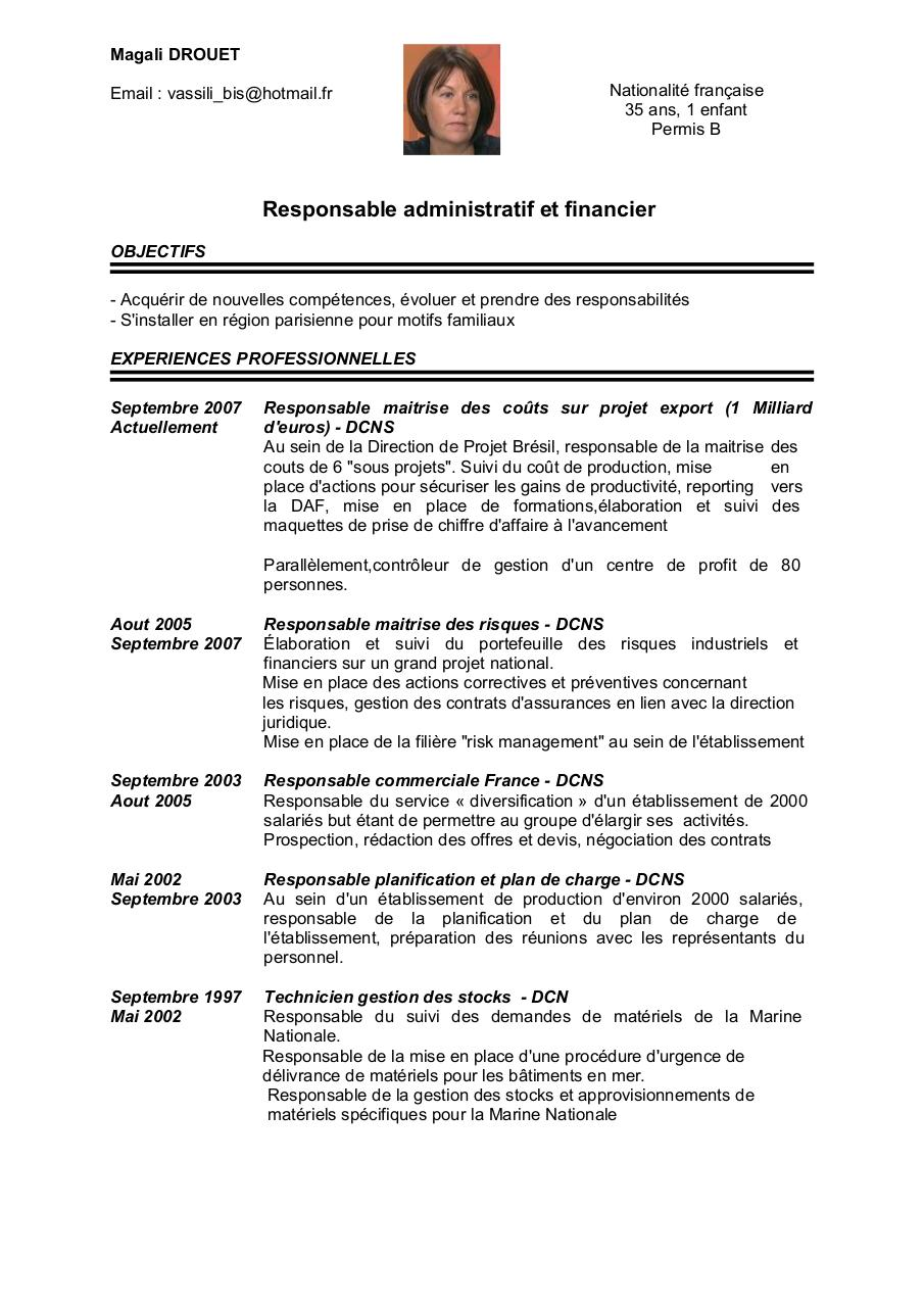 exemple cv charge de gestion locative