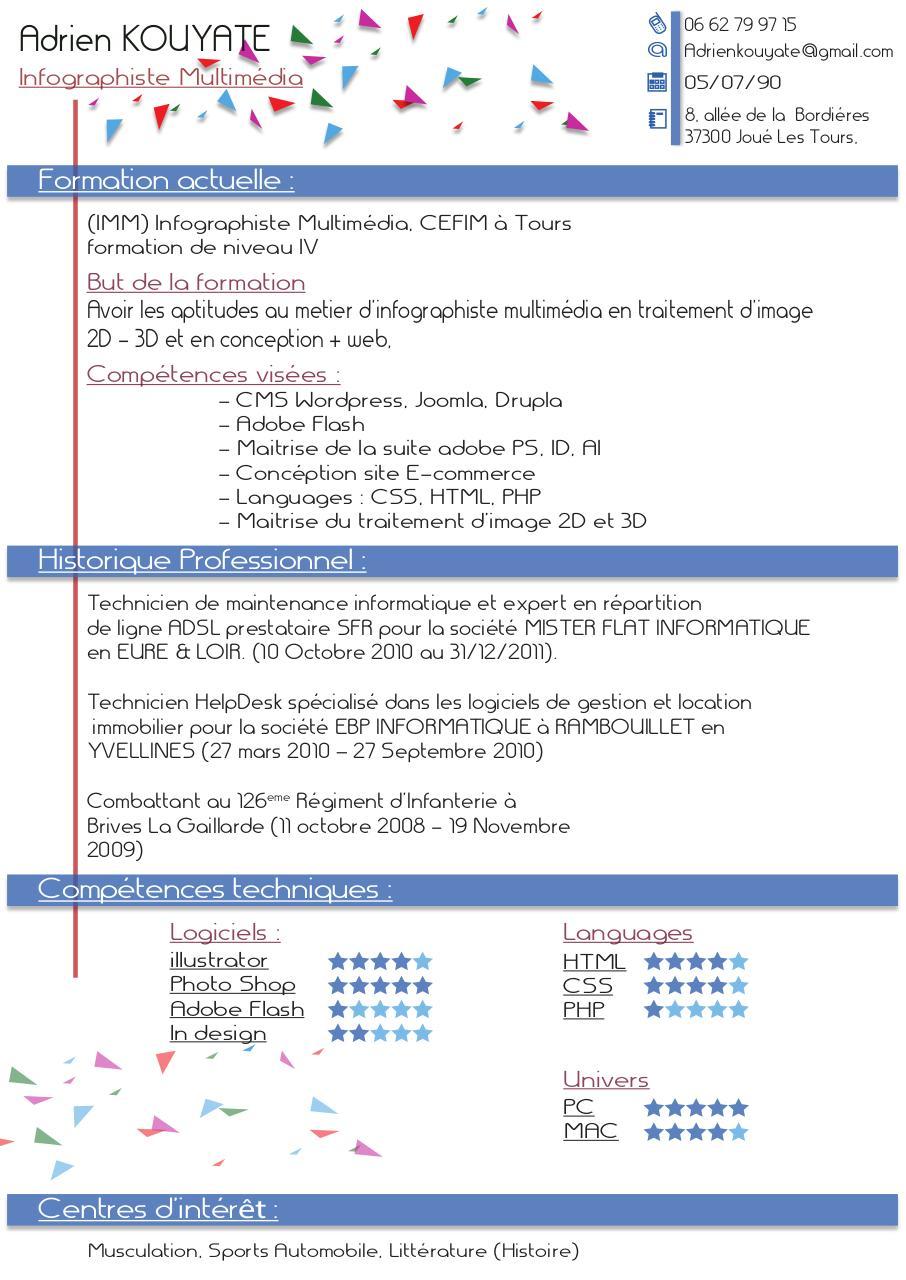 competences techniques informatique cv