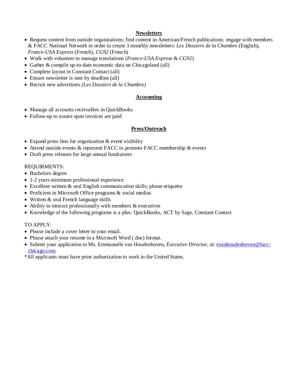 Resume Format For One Year Experience In Networking | Best ...