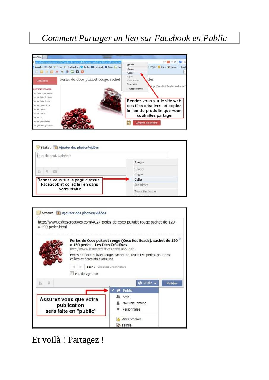 partager un cv en pdf sur facebook