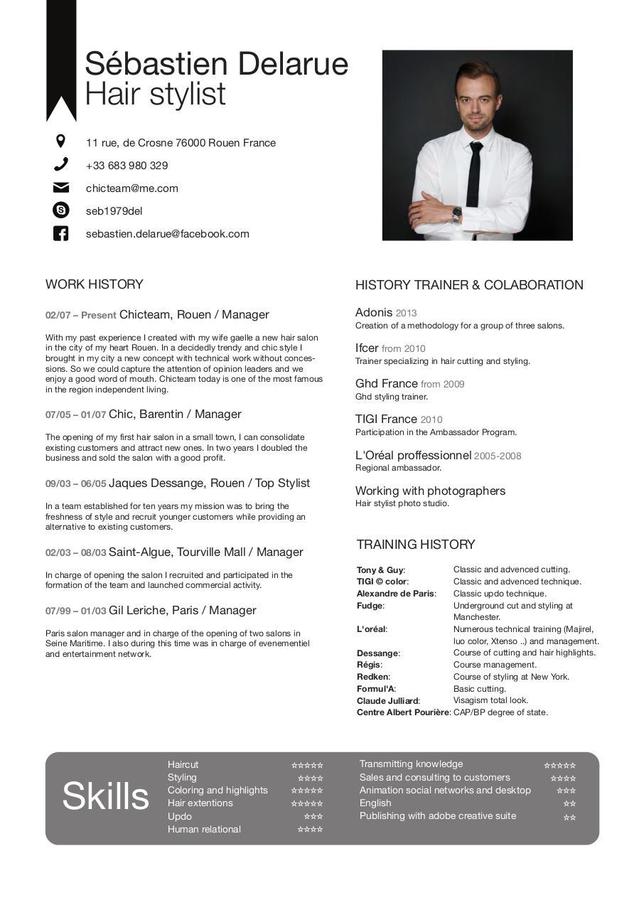 sebastien baousson cv pdf