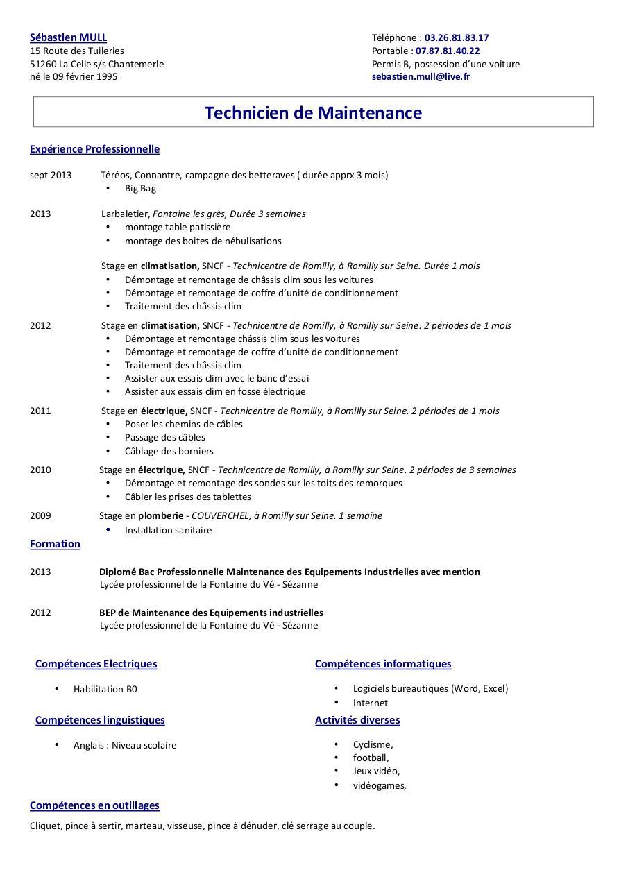 competences bureautiques informatiques cv