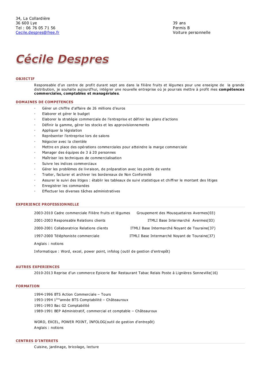 faire un cv power point