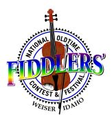 National Oldtime Fiddlers Contest & Festival Logo