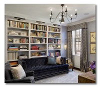 A room I love :: a row-house library office combo ...