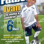 invitacion futbol