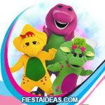 invitaciones Barney