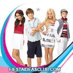 invitaciones High School Musical
